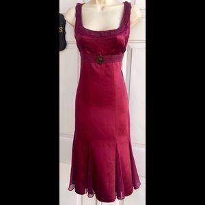 Antonio Melani silk dress sz4